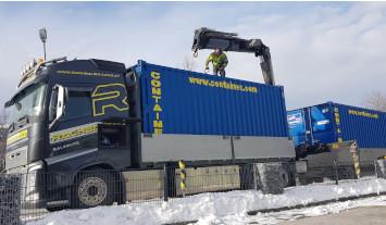 Rachbauer Salzburg Container Transport