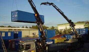 Container Vermietung Rachbauer Salzburg